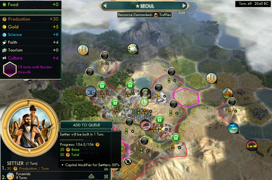 civ 5 how to return workers to city states