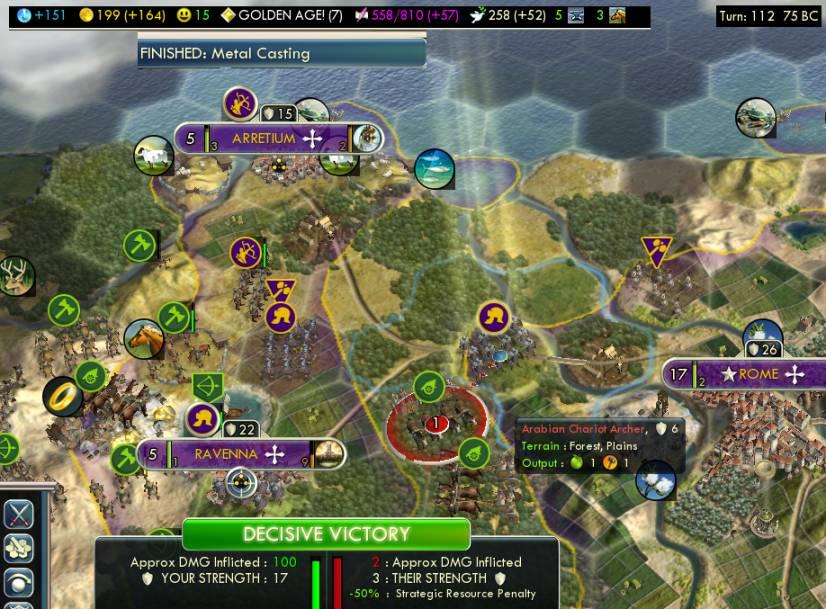 civ 5 how to play arabia