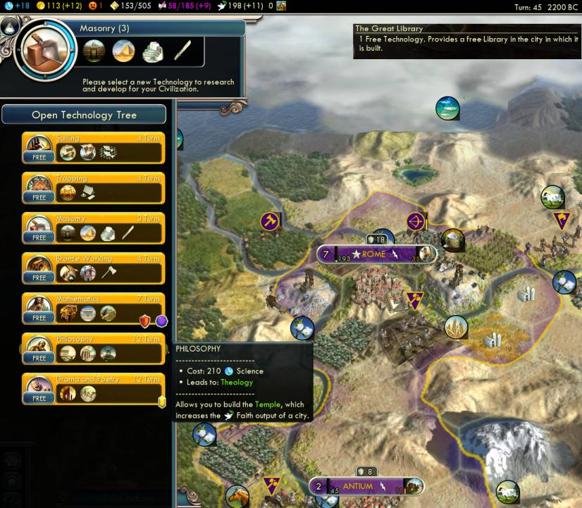 Civ  Can T Build Great Library
